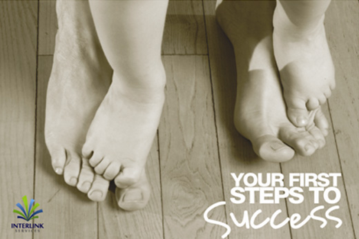 your first steps to success poster